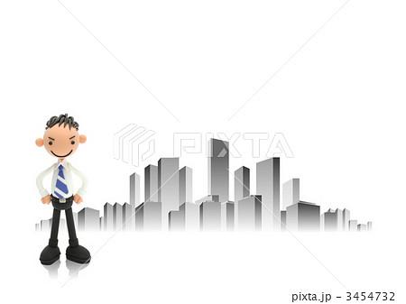粘土のビジネスマン 3454732