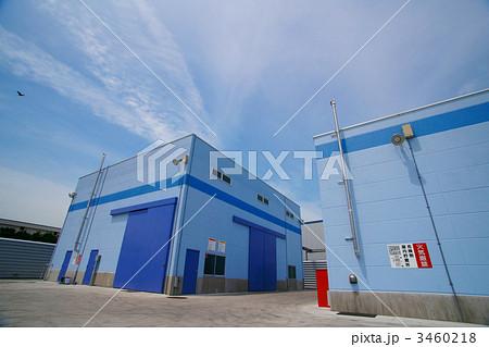 写真素材: 工場-工場建屋