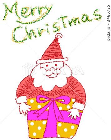 クリスマス サンタ イラスト