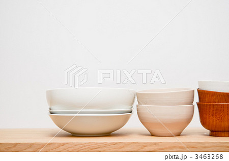 食器 片付け お茶碗の写真素材 [3463268] - PIXTA