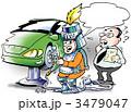 メンテナンス 修理する 修理工のイラスト 3479047