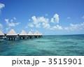 ニューカレドニアの水上コテージ 3515901