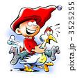 Elf riding on a goose 3525255