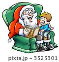 クリスマスイブ クリスマスイヴ 聖夜のイラスト 3525301