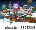 クリスマスイブ クリスマスイヴ 聖夜のイラスト 3525336