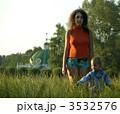 親子 親 母親の写真 3532576