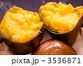 薩摩藷 安納芋 焼芋の写真 3536871