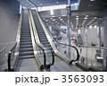 段 エスカレーター エレベータの写真 3563093