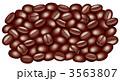 コーヒー 豆 コーヒー豆のイラスト 3563807