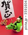 辰 張り子 張り子人形の写真 3591604
