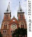 サイゴン聖母大聖堂 大司教座大聖堂 サイゴン大教会の写真 3591697
