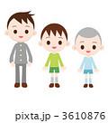 三兄弟 男の子 兄弟のイラスト 3610876