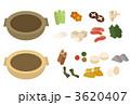 具材 おでん料理 食材のイラスト 3620407