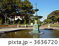噴水広場 港の見える丘公園 噴水の写真 3636720
