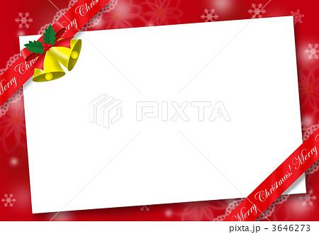 クリスマスフレームのイラスト素材 3646273 Pixta