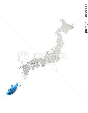 沖縄地方 沖縄 日本地図の ... : 日本地図 沖縄 : 日本