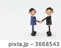 握手 粘土 ビジネスマンの写真 3668543