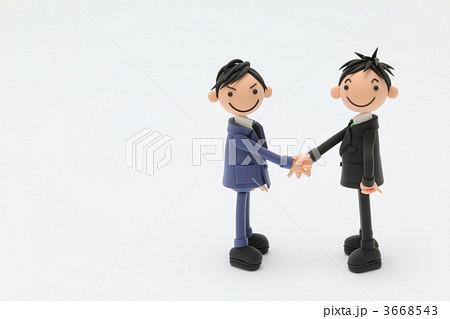 粘土のビジネスマン 3668543