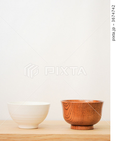 食器 器 ホワイトスペースの写真素材 [3674742] - PIXTA