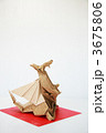 折り紙 折紙 干支の写真 3675806
