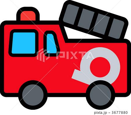 消防車 (かわいい乗り物シリーズ)