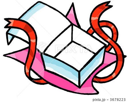 すべての講義 包装紙 素材 : イラスト素材:開いた ...
