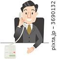 電話で話す社長 3690132