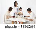 老夫婦 シニア 和食の写真 3698294