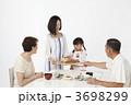 老夫婦 シニア 和食の写真 3698299