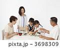 老夫婦 シニア 和食の写真 3698309