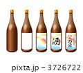 一升瓶 日本酒 瓶のイラスト 3726722