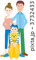 男の子 犬 子供のイラスト 3732433