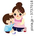 保育士 子供 園児のイラスト 3737018
