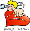 少年 キューピット キューピッドのイラスト 3742677