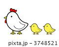 ひよこ 鶏 ヒヨコのイラスト 3748521