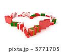 xマス クリスマス プレゼントのイラスト 3771705