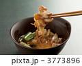 すき焼き 白葱 すき焼き鍋の写真 3773896