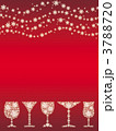 雪の結晶 グラス 結晶のイラスト 3788720