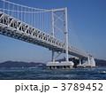 鳴門海峡 大鳴門橋 橋の写真 3789452