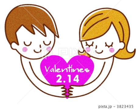 バレンタイン イラスト 3823435
