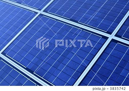 太陽電池(ソーラー)パネル 3835742