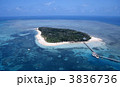 グリーン島 珊瑚礁 海の写真 3836736