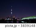 荒川 東京スカイツリー 木根川橋の写真 3839148