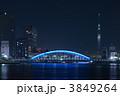 清洲橋 永代橋 隅田川の写真 3849264