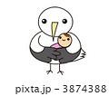 コウノトリと赤ちゃん2 3874388