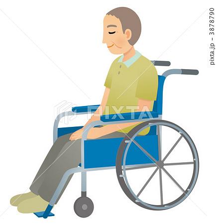 車椅子の男性 3878790