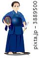 剣道 剣士 少年剣士のイラスト 3889500