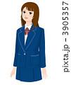 制服の女子高生 3905357