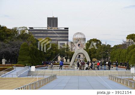 平和記念公園と原爆ドーム 3912154