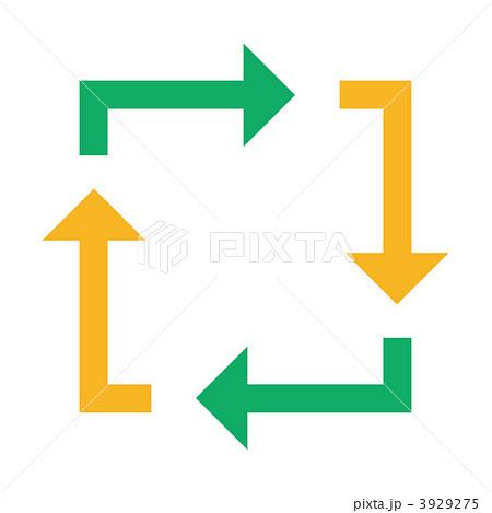 やじるし 矢じるし 矢印のイラスト素材 3929275 Pixta